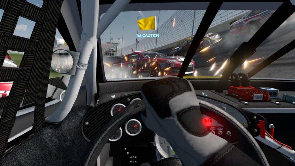 Puține alte simulatoare auto oferă o senzație similară folosind camera in-car