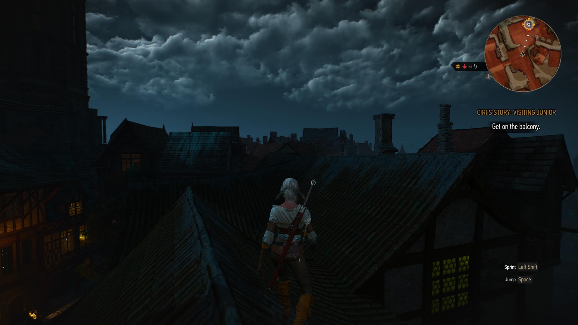 Pe acoperişul suferinţei.