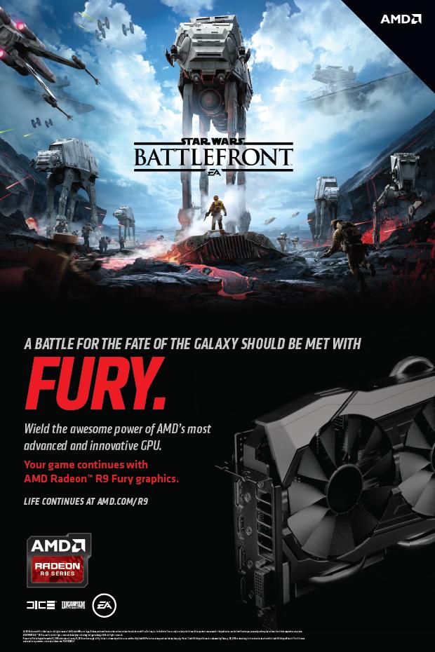 AMD Salvează Galaxia cu Furie