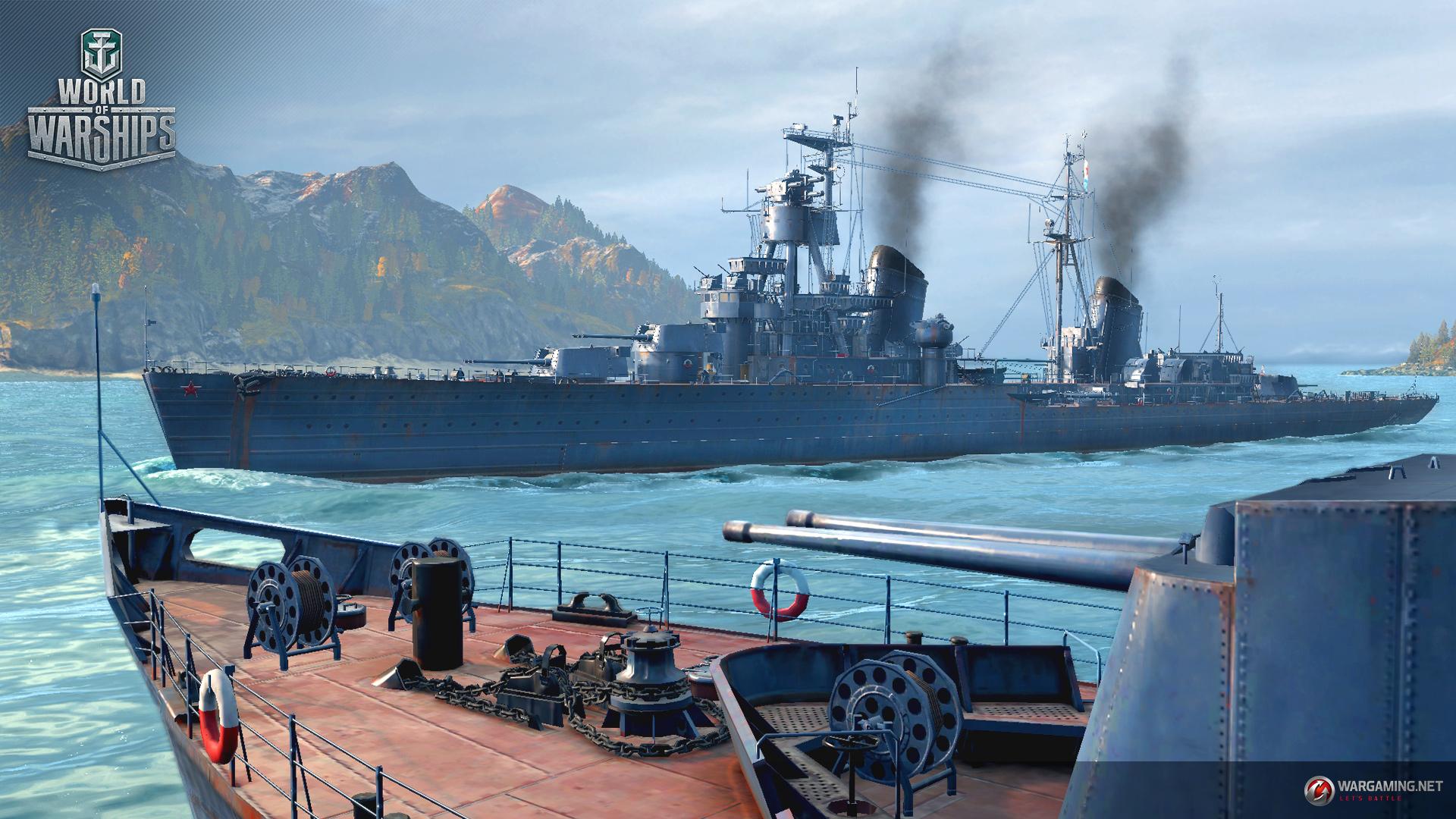 Crucişătoarele Sovietice dezlănţuite în World of Warships!