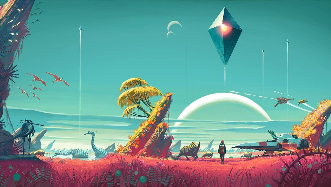 21 de minute de gameplay din No Man's Sky