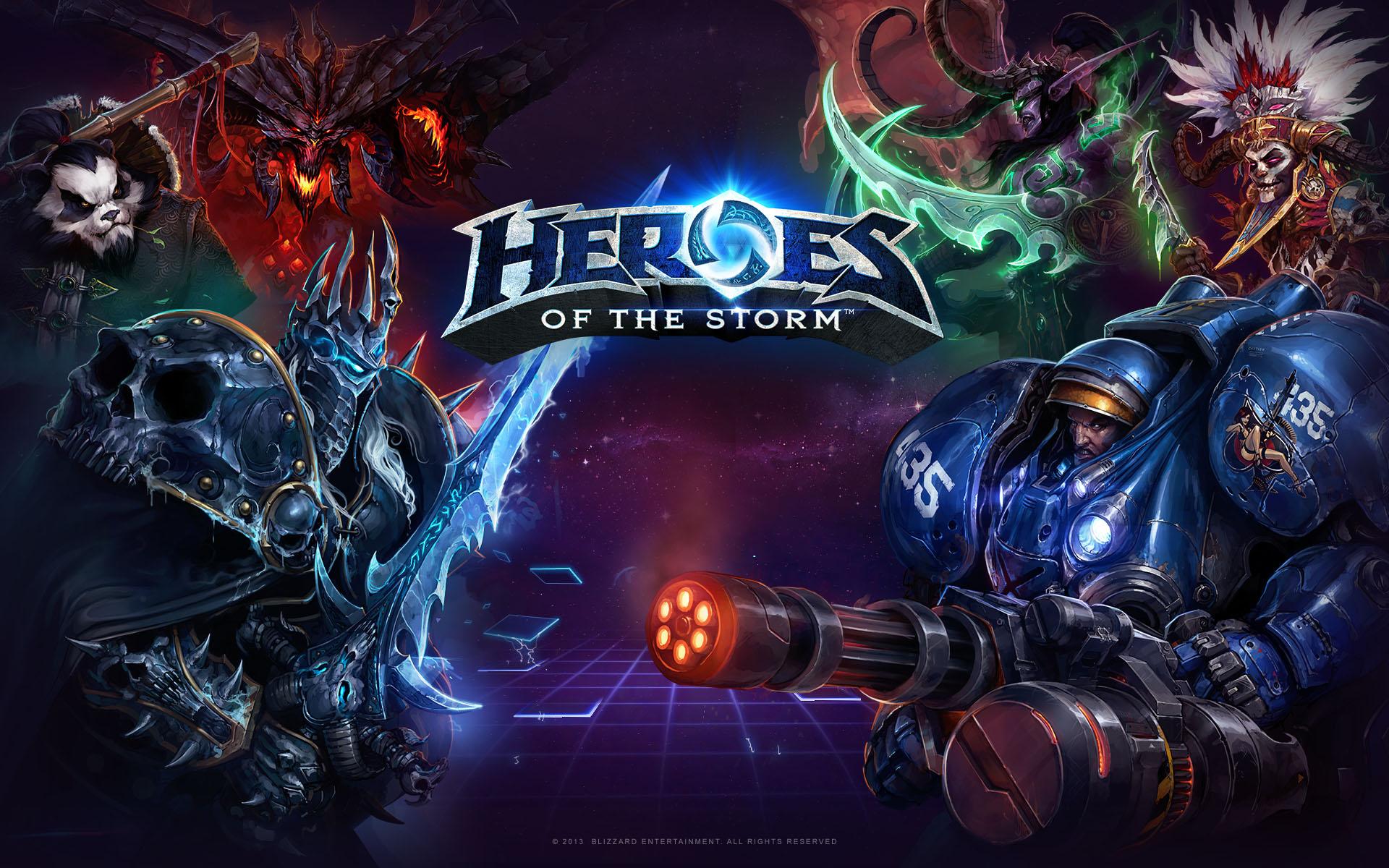 Încercaţi gratuit toţi eroii din Heroes of the Storm