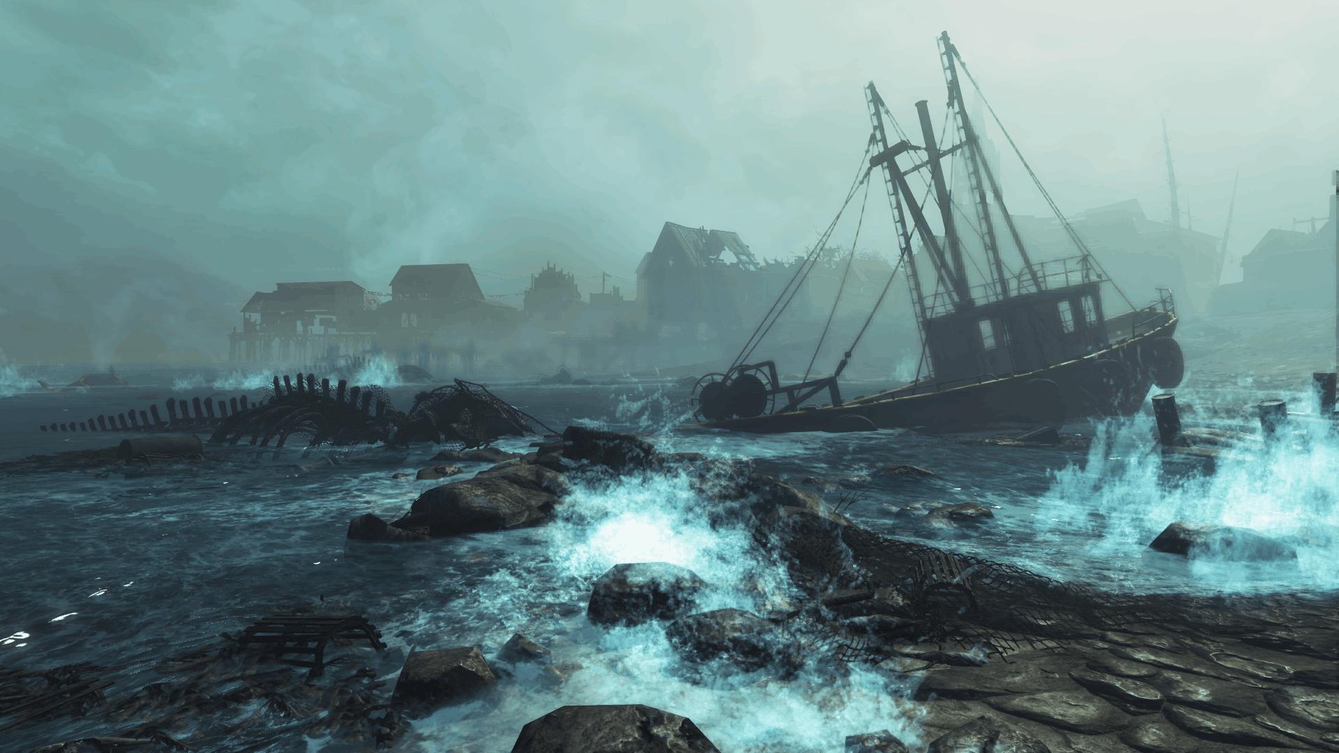 Fallout 4 Far Harbor vine luna aceasta