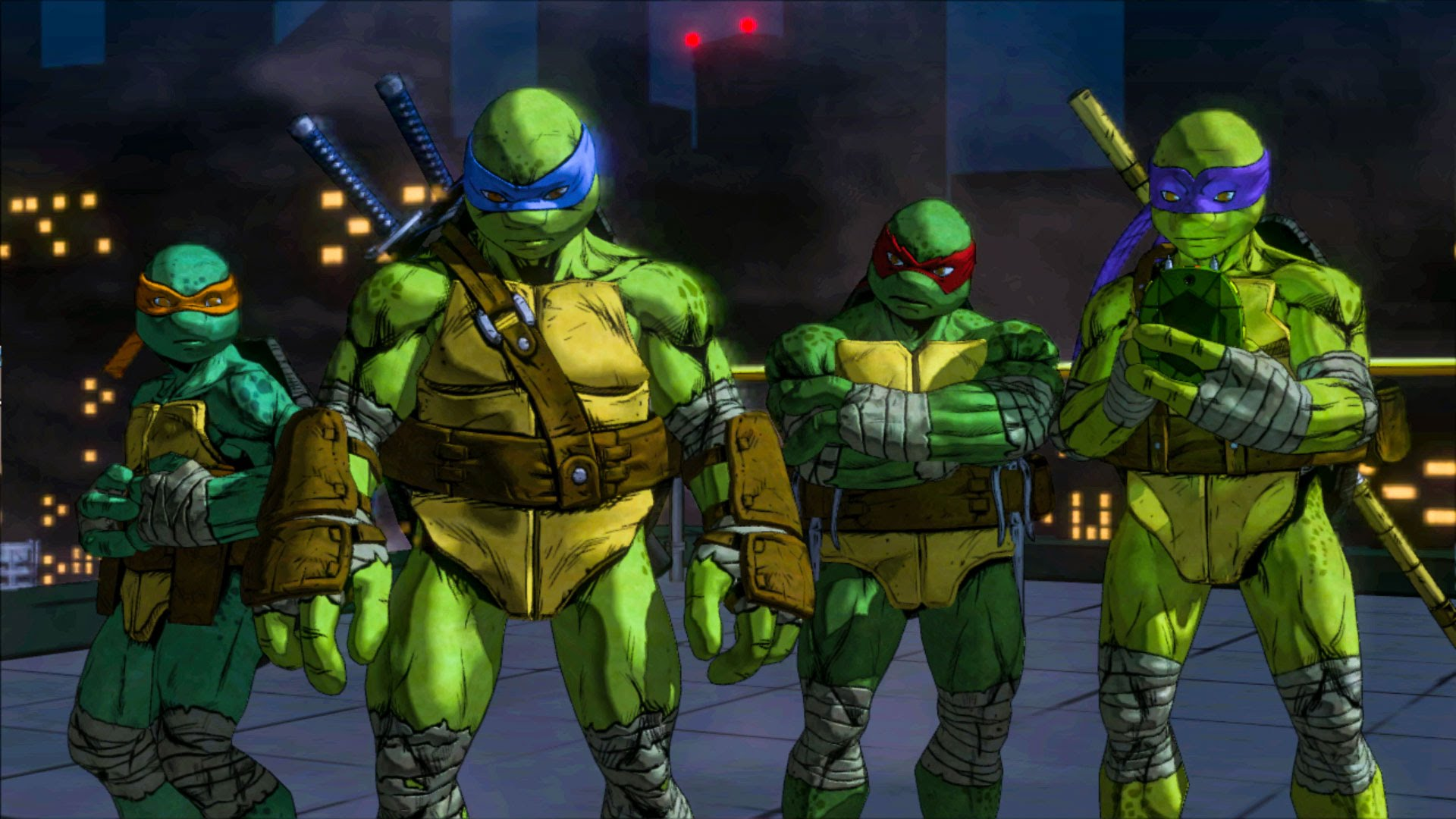 A fost lansat noul Teenage Mutant Ninja Turtles