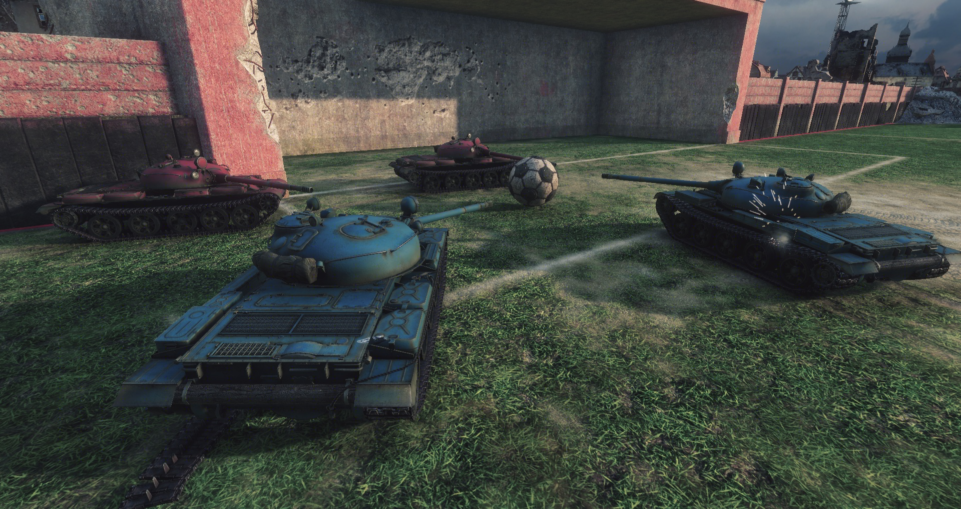 World of Tanks, fotbal şi un turneu