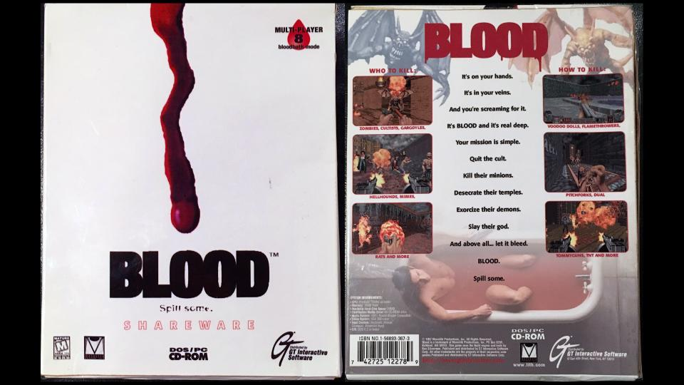 O revenire a francizei Blood?