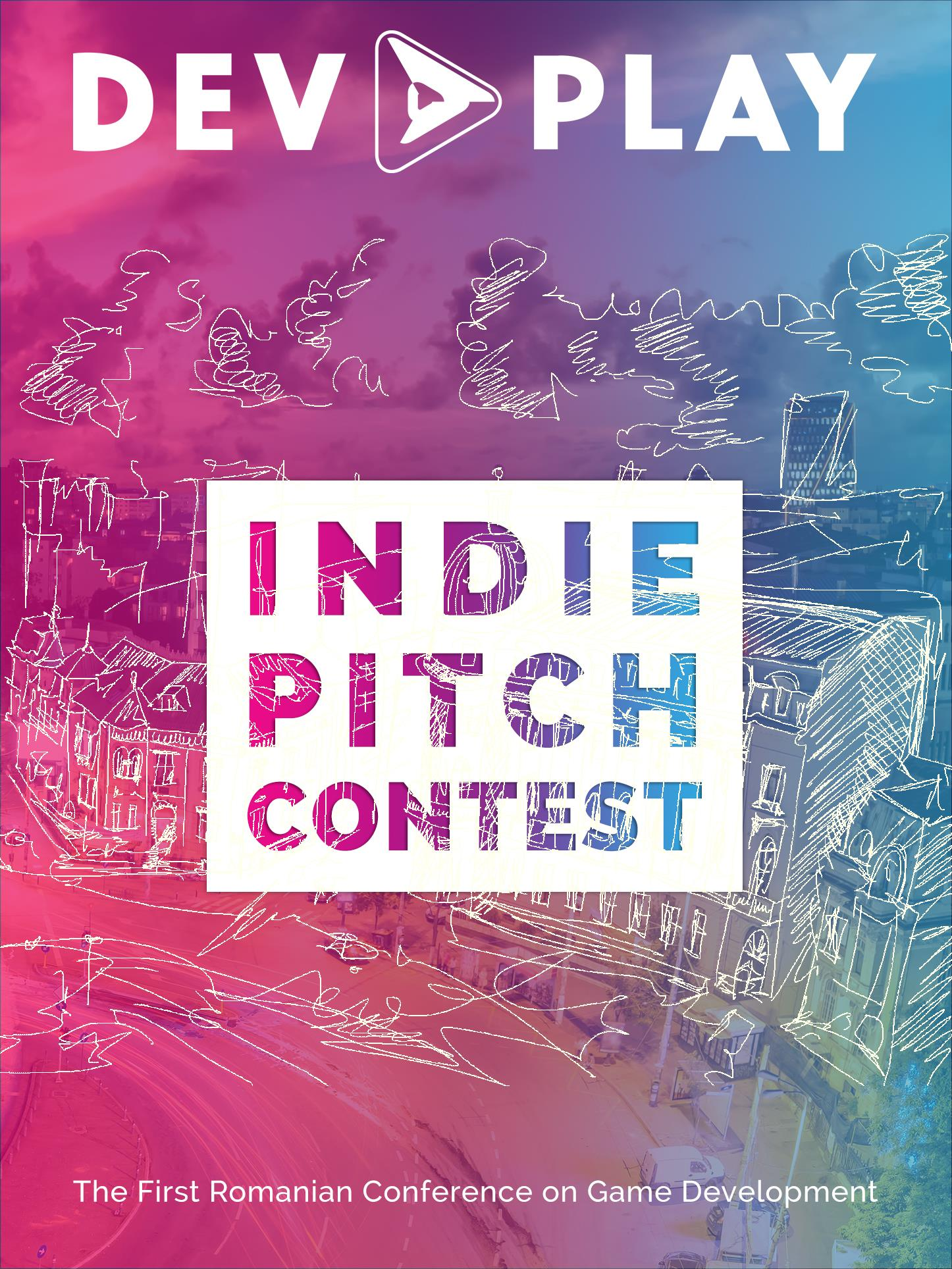 RGDA organizează Indie Pitch - Poster