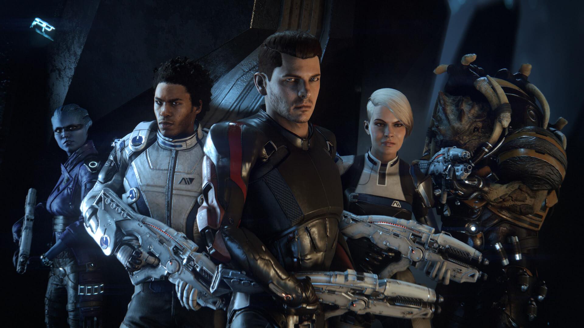 Mass Effect Andromeda: Trailer Cinematic şi un Meet the Team ...