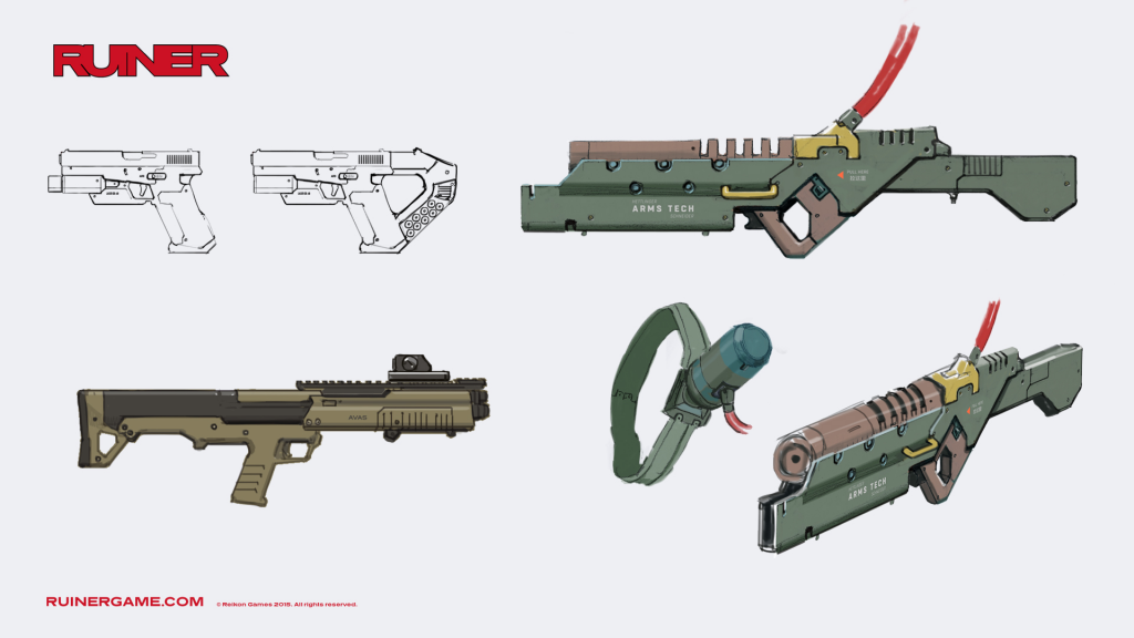 ruiner-guns