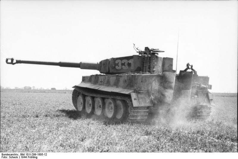 Nordfrankreich, Panzer VI (Tiger I)