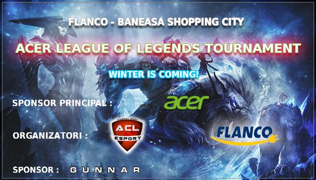 acer league of legends tournament