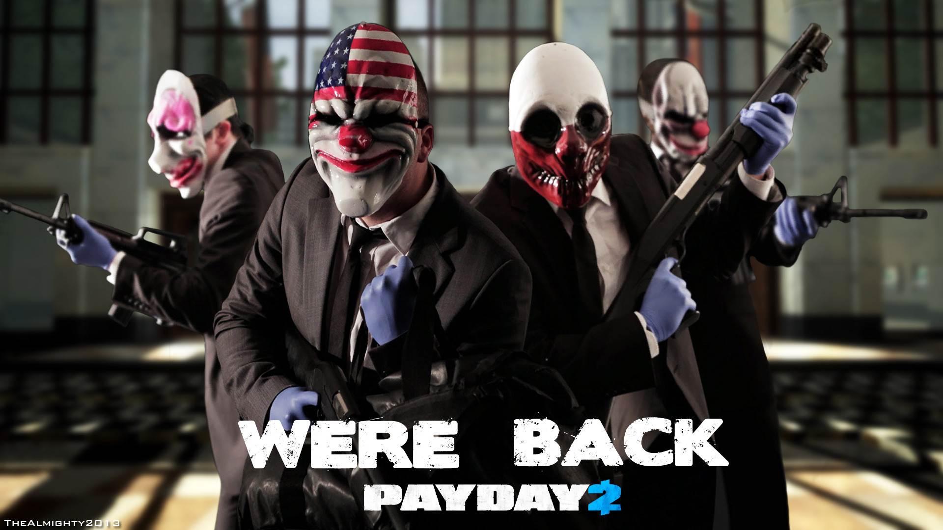 Martie ne lasă cu Payday 2 gratuit timp de o săptămână
