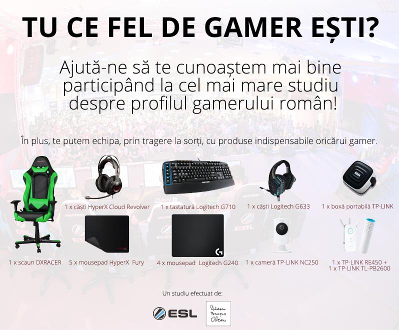Luaţi loc! Vă facem profilul de gamer român.