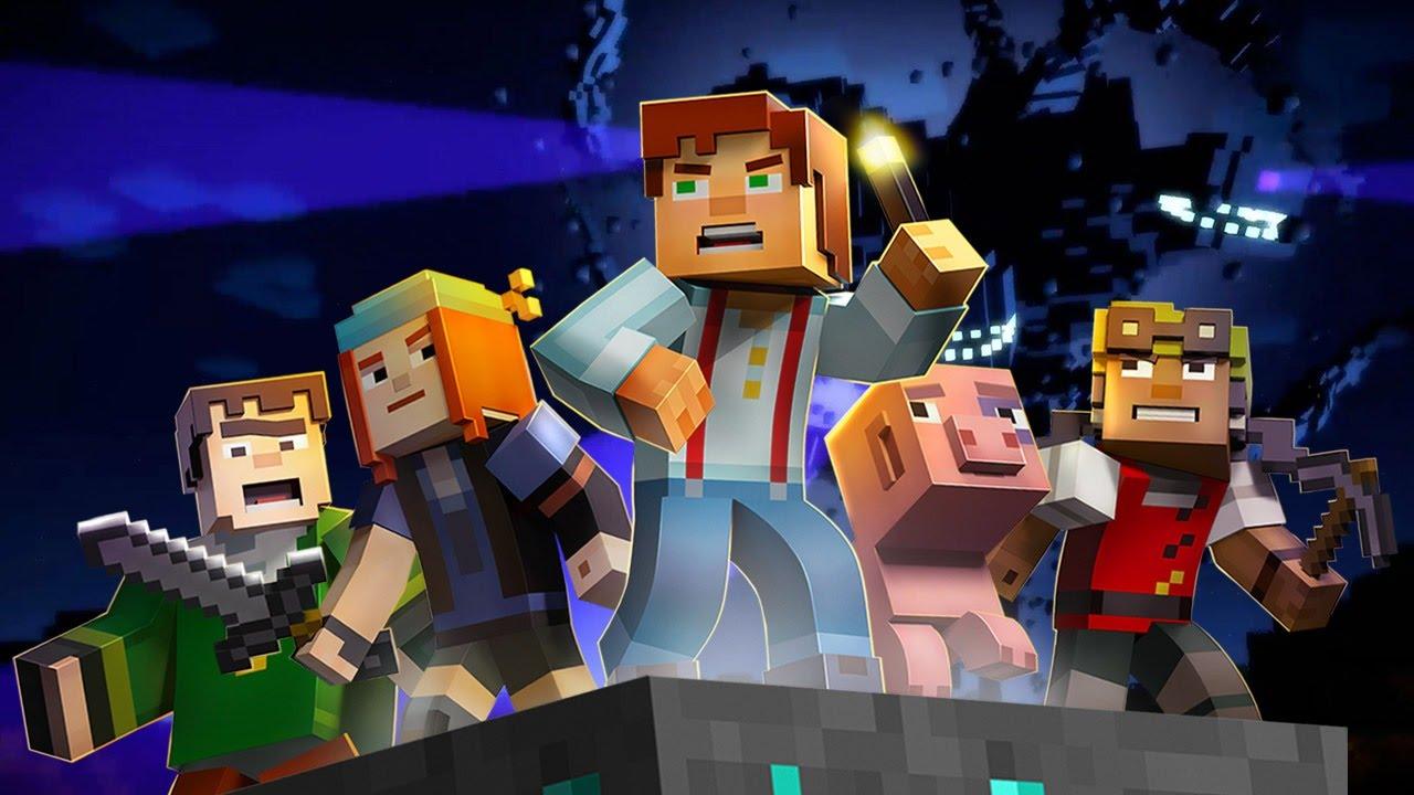 Minecraft Story Mode Episode 1 gratuit pentru PC