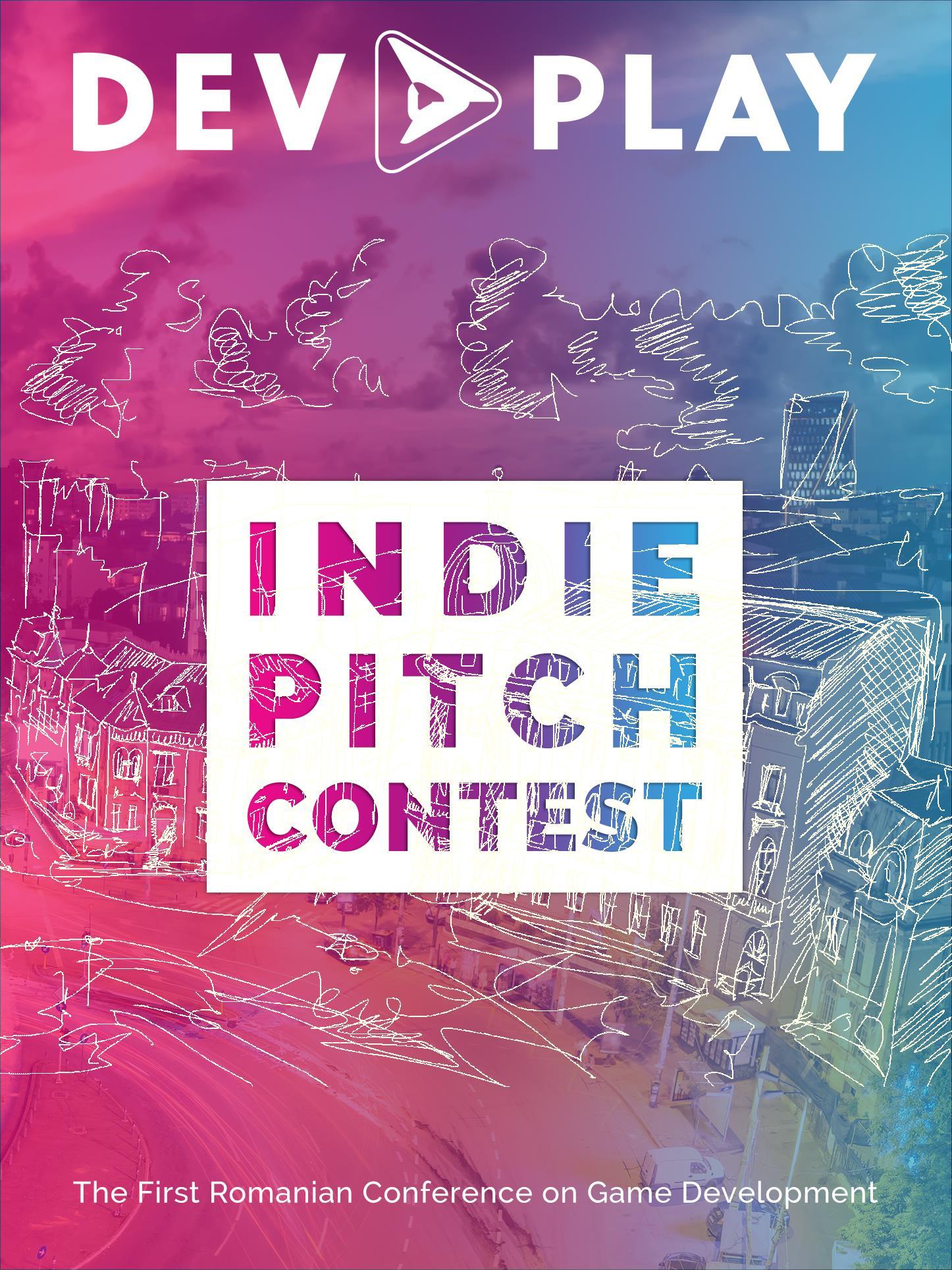 RGDA organizează Indie Pitch - Poster