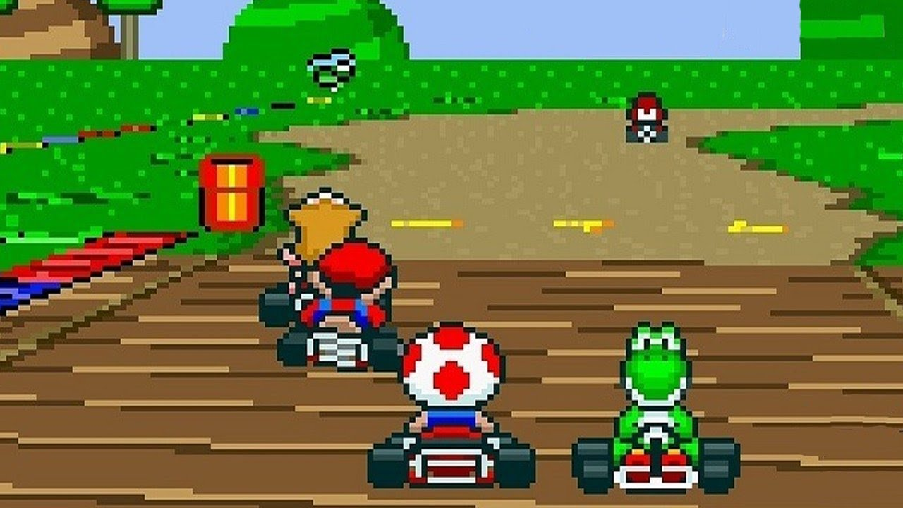 N2-NIVELUL2-Super-Mario-Kart-Review-SNES-Classic-Mini-Super-Nintendo-Vlad-Costea