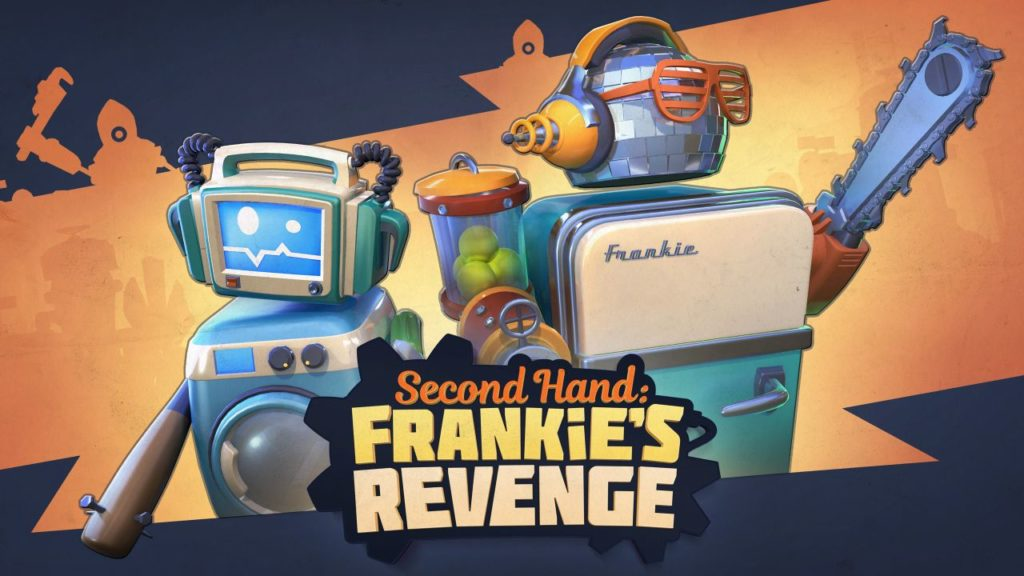 Second Hand Frankie's Revenge cover 02