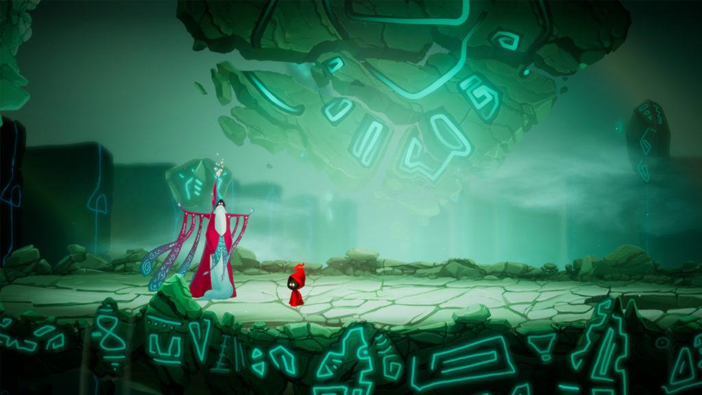 Scena de final a demo-ului